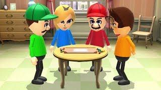 Wii Party U - Mario VS Luigi VS Rosalina VS Donkey Kong (Minigames)