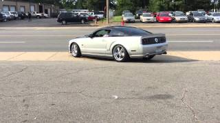 2008 mustang gt mother thumper cam with pypes o r xpipe and fr500s axle back