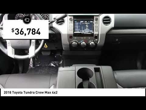 2018 Toyota Tundra Crew Max 4x2 Elk Grove Toyota 119144