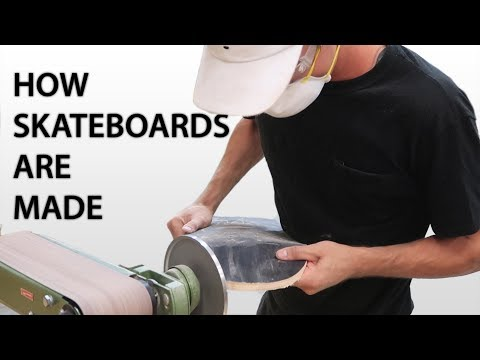 HOW SKATEBOARDS ARE MADE: Freestyle Trick Tip