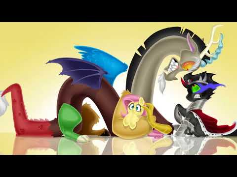 mlp:FIM king sombra and fluttershy and discord tribute Killpop