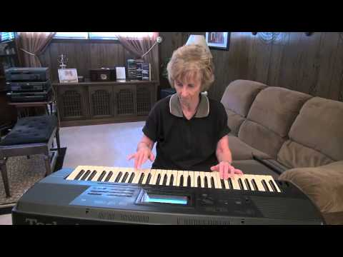 Jackie Playing A Little Bit of Rock & Jazz On Keyboards