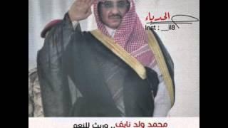 شيله مهنا العتيبي لوزير الداخليه حمه الله ورعه محمد بن نايف