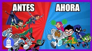 Teen Titans vs Teen Titans Go!  (Atómico #233) en Átomo Network