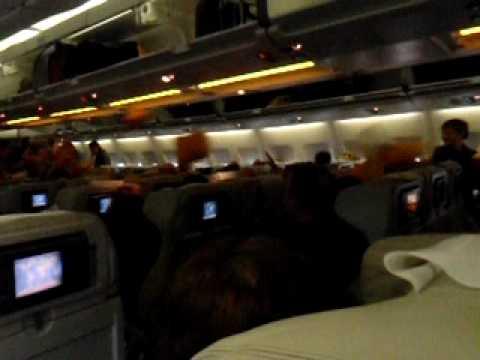 Flight Air Mauritius to Paris March 2010