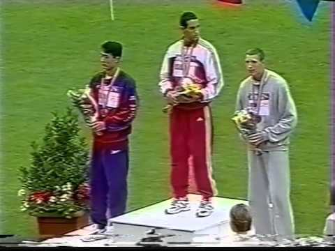 Official High Jump Medal Ceremony - World Junior Track and Field Championships