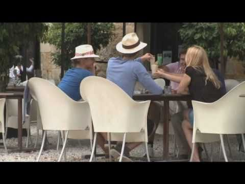 Château les Merles golf hotel restaurant