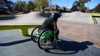 Фристайл на инвалидной коляске
