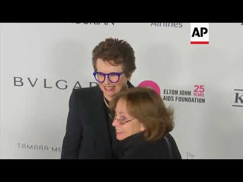 Elton John celebrates 25th anniversary of his AIDS foundation at NYC gala