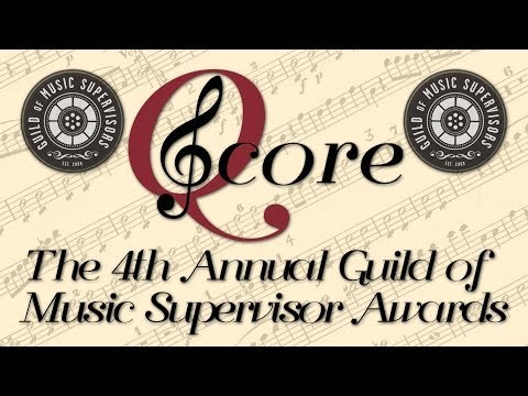 Q Score Live Post 4th Annual Guild of Music Supervisors Awar