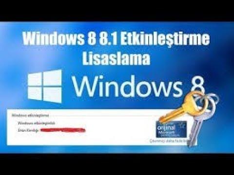2 DAKİKADA Windows Etkinleştirme CRACK  10/8.1/ 8  / 2019