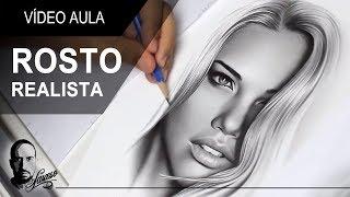Vídeo Aula / Desenhando um Rosto Realista - Charles Laveso