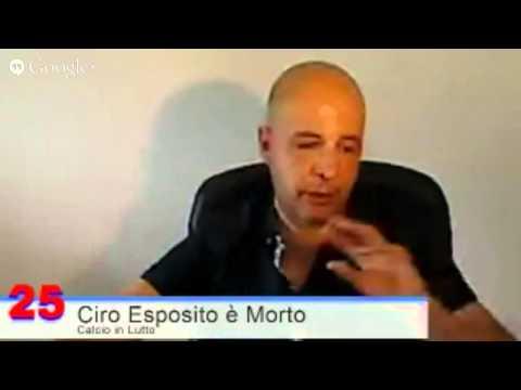 Ciro Esposito è Morto - Sparatoria Finale Coppa Italia : Tifoso Napoli