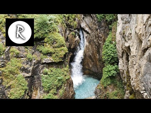 Waterfall in Cave Sounds | White Noise for Study, Sleep