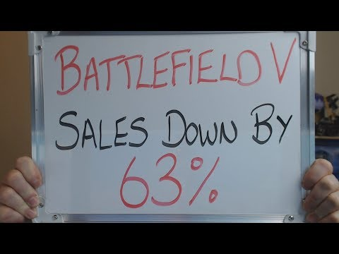 BATTLEFIELD V Sales Figures DOWN 63% CUSTOMERS SPEAK !! thumbnail