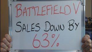 BATTLEFIELD V Sales Figures DOWN 63% CUSTOMERS SPEAK !!