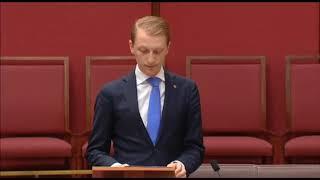 Senator Paterson calls for a CANZUK agreement in the Senate