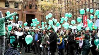 Sydney Rally against Iran Presidential Election, 20 June 2009 (part 1)