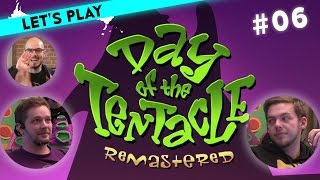 [6/9] Let's Play Maniac Mansion Day of the Tentacle mit Marco, Steffen und Gregor | 22.03.2016
