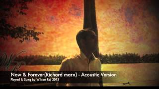 Now and Forever i will be your man(Richard Marx) - Acoustic Cover - Wilson Raj 2013.