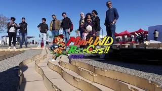 Mini 4WD Egypt 100M race  promo in Smart Village with Maker Faire Egypt
