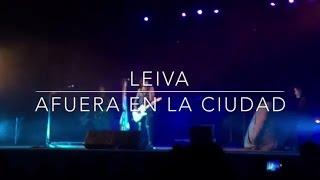 Leiva - Afuera en la ciudad - Segovia 2015