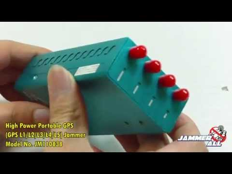 Video cellphone jammer device - 5G Jammer device