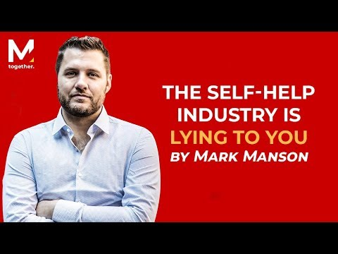 Mark Manson - You Will Wish You Watched This Before You Started ...