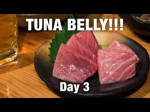 Japanese Food Tour of Osaka - TUNA BELLY (Otoro) That Will Melt-In-Your-Mouth!