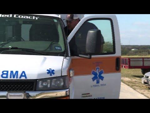 Local EMS team responds and processes Texas church shooting
