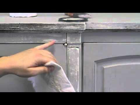 gray furniture paintDry Brushing Tutorial  Chalk Paint  How to Paint Furniture  YouTube