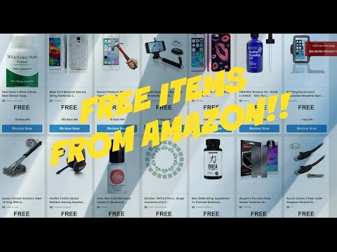 HOW TO GET FREE!! Items from AMAZON!! - Home Product Testing
