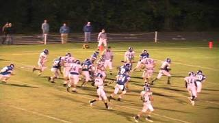 Peter Lawson 2010 Highlight Tape #1 ATH RB/LB