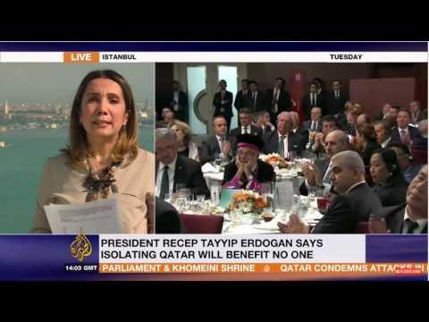 Turkish parliament rush vote to send troops to Qatar, Sinem Köseoğlu for AJE