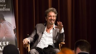 Discussion with Oscar Winning Actor Al Pacino at New York Film Academy