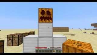 Como hacer un golem de hierro - Minecraft- Tutorial