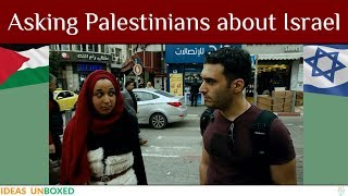 Asking Palestinians about Israel ☪️✡️ Israeli-Palestinian Conflict Part 1
