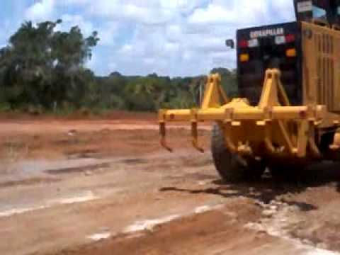 motoniveladora caterpillar 120k
