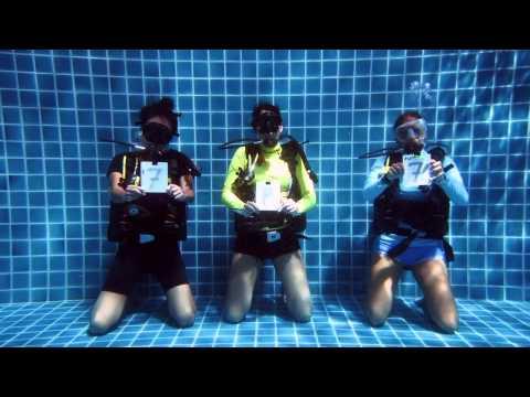 World Underwater Bubblering Championships - Koh Tao