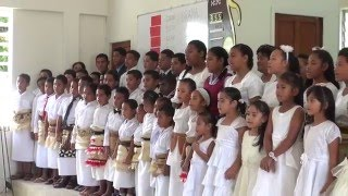 Nuku'alofa SDA Church - Children Ministries Special Item - Jesus Saves