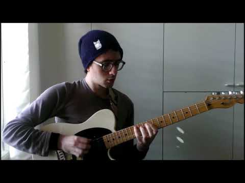 Dream Theater - Octavarium Keyboard Solo (on guitar)