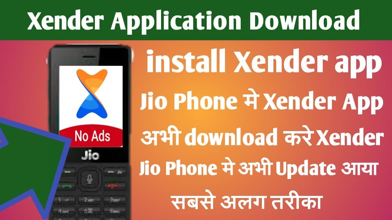 #Xender Apk Download on Jio Phone॥ install Xender application on Jio Phone॥  Broblem Solved download