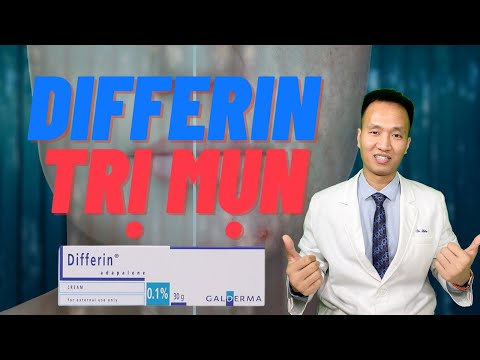 Differin Để trị MỤN khi nào thì HIỆU QUẢ - Review Differin 0,1% | Dr Hiếu