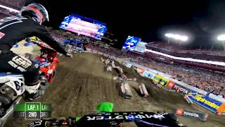 GoPro: Adam Cianciarulo - 2020 Monster Energy Supercross - 450 Main Event Highlights - Tampa