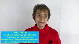 Elections des locataires - Dinah LEHMANN candidate UNLI à Hauts-de-Seine Habitat