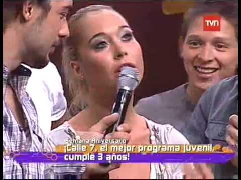 Valentina Roth y Claudio Valdivia bailando merengue en ...