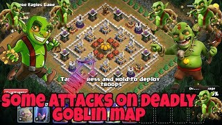 ATTACKS ON NEW GOBLIN'S MAP (CLASH OF CLANS) BY LET'S DO IT TRY IT.