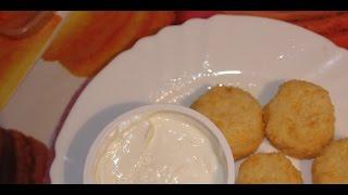 Рисово-сырные шарики в кляре