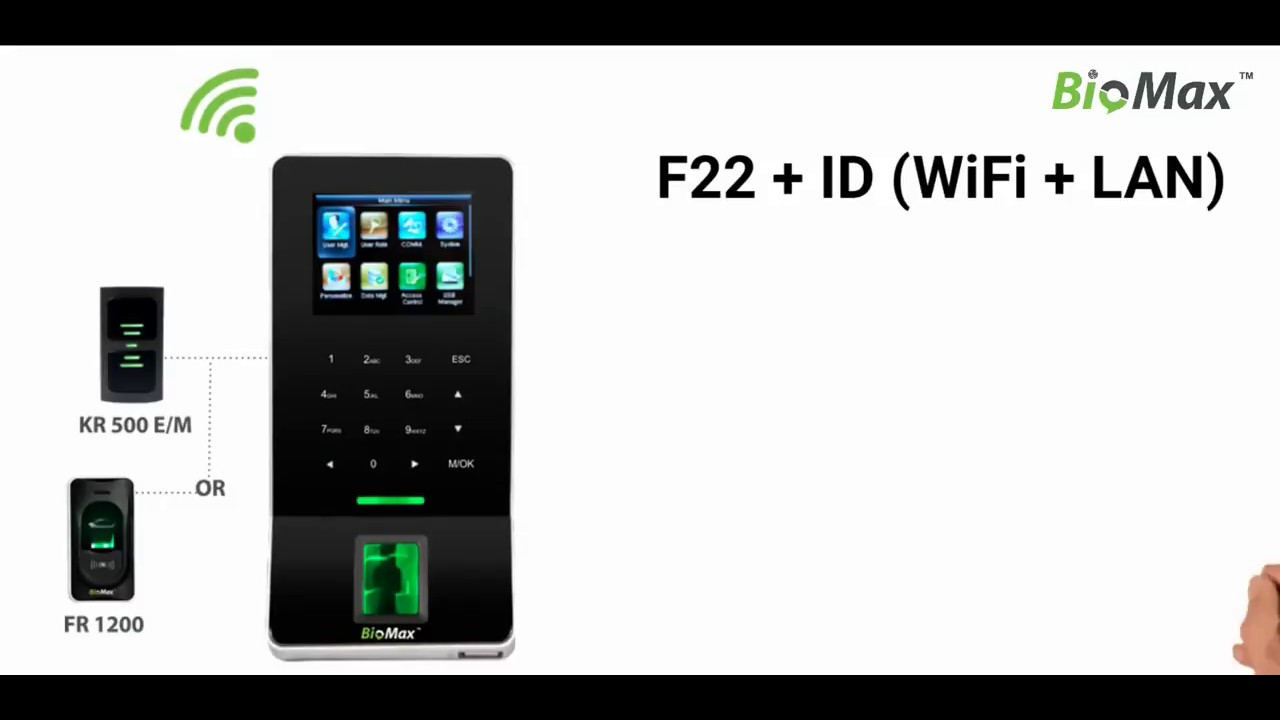 F22 eSSL WiFi Biometric attendance machine Its Features Top Selling  Biometric Attendance Machine