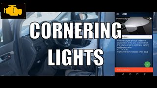 How to enable cornering lights with OBDeleven VW Touran - Doświetlanie zakrętów VW OBDeleven